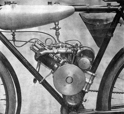 Anzani Cyclemotor