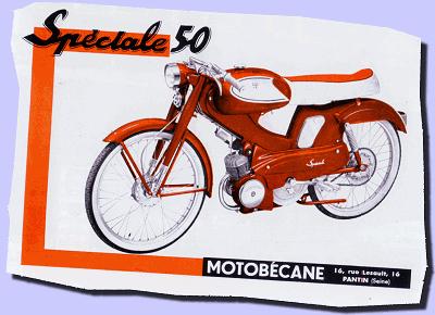 MBK MotoBECANE Decompressor or Startor Lever Black Metal Cylinder Motorbike